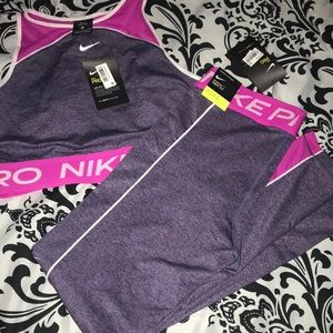Nike Pro tight fit training outfit